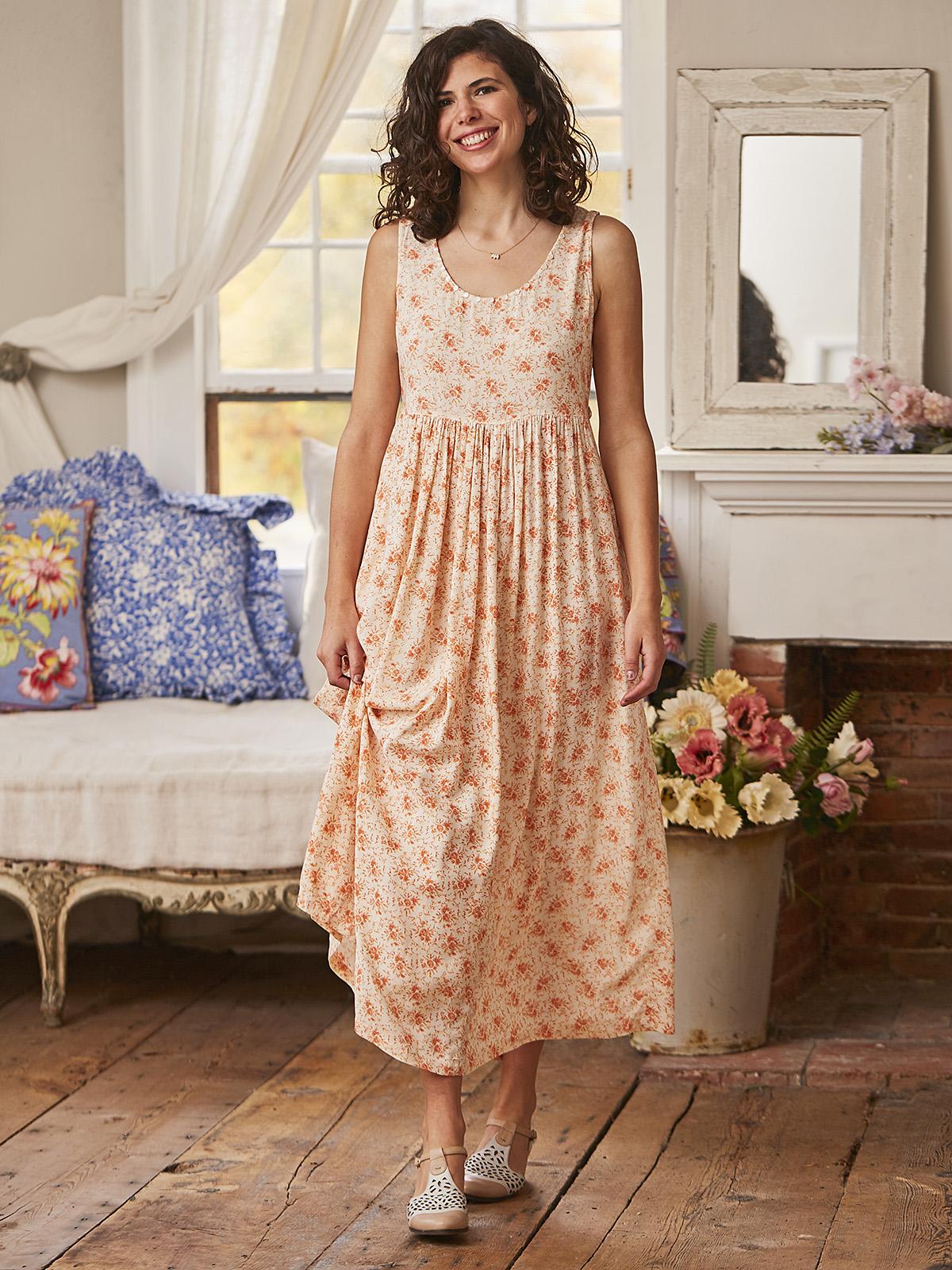 Sarah's Rose Prairie Dress