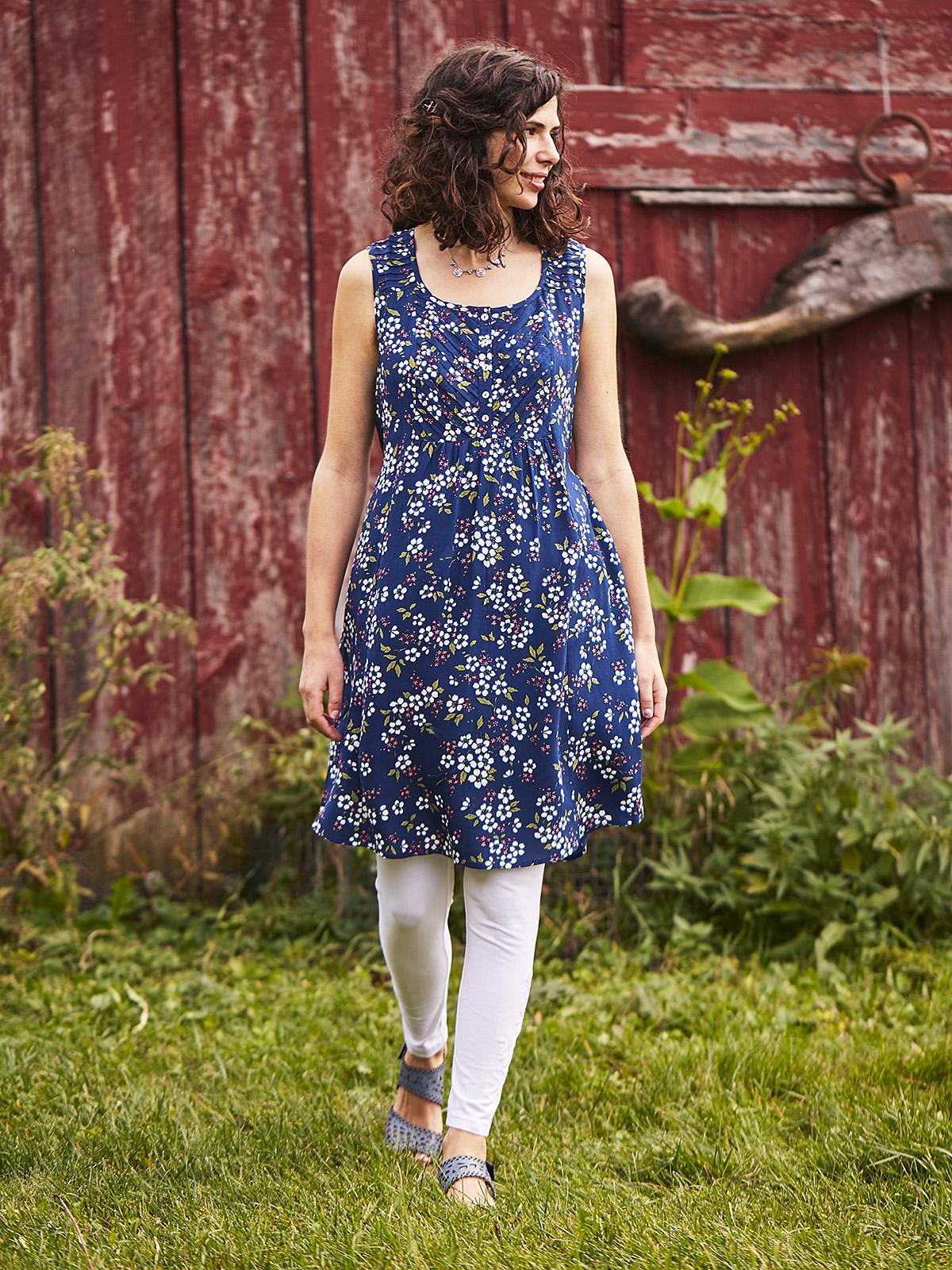 Fair Flower Sleeveless Dress