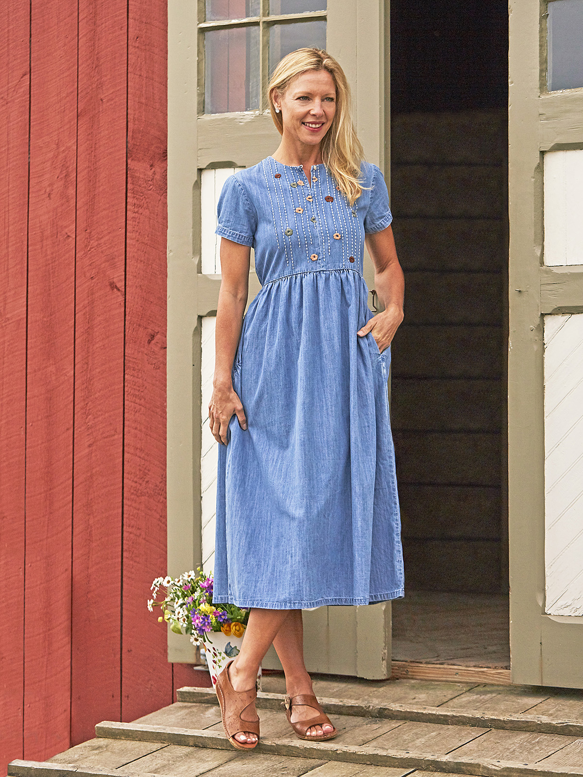 Blue Meadow Dress