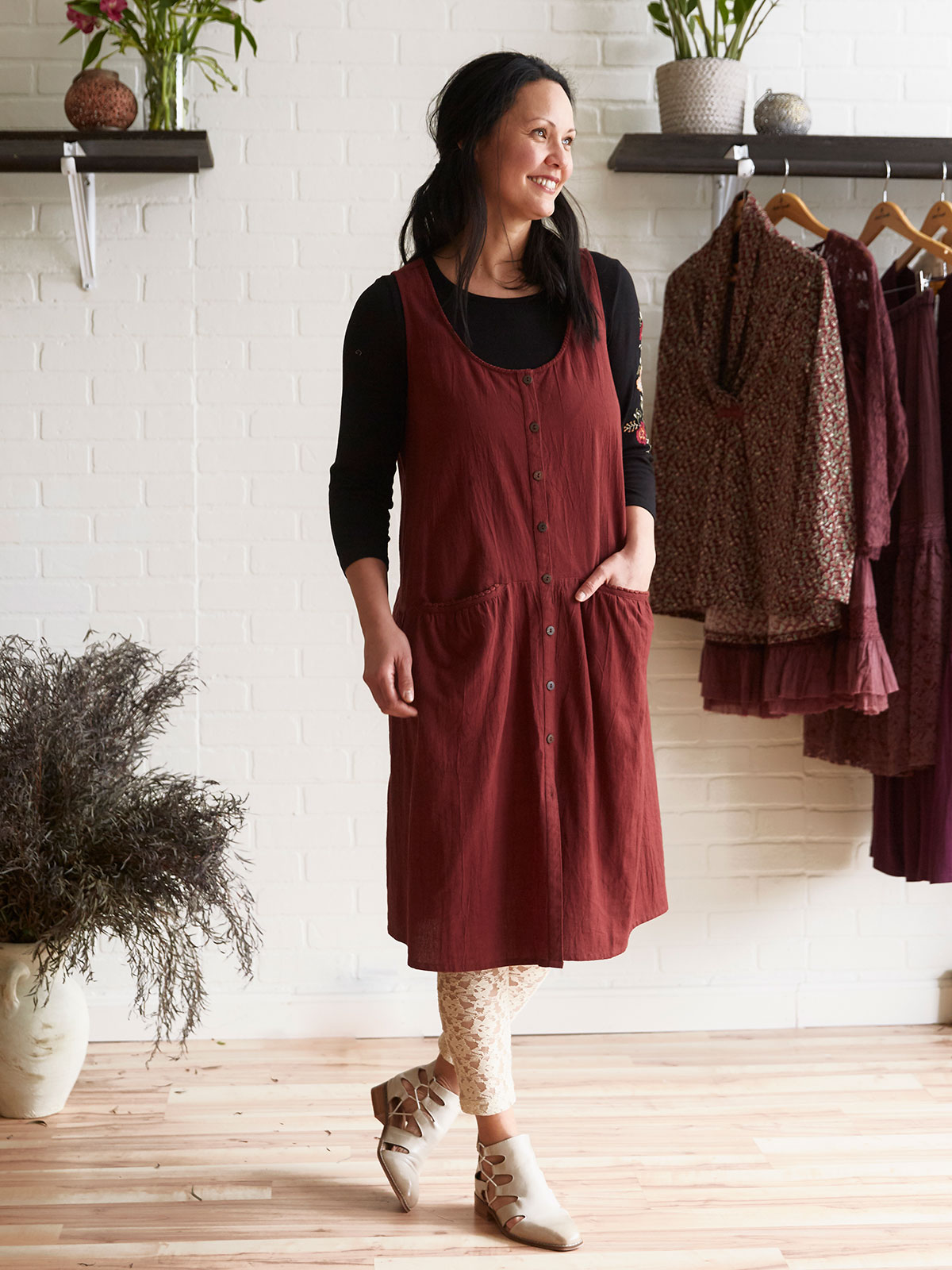Chestnut Dress