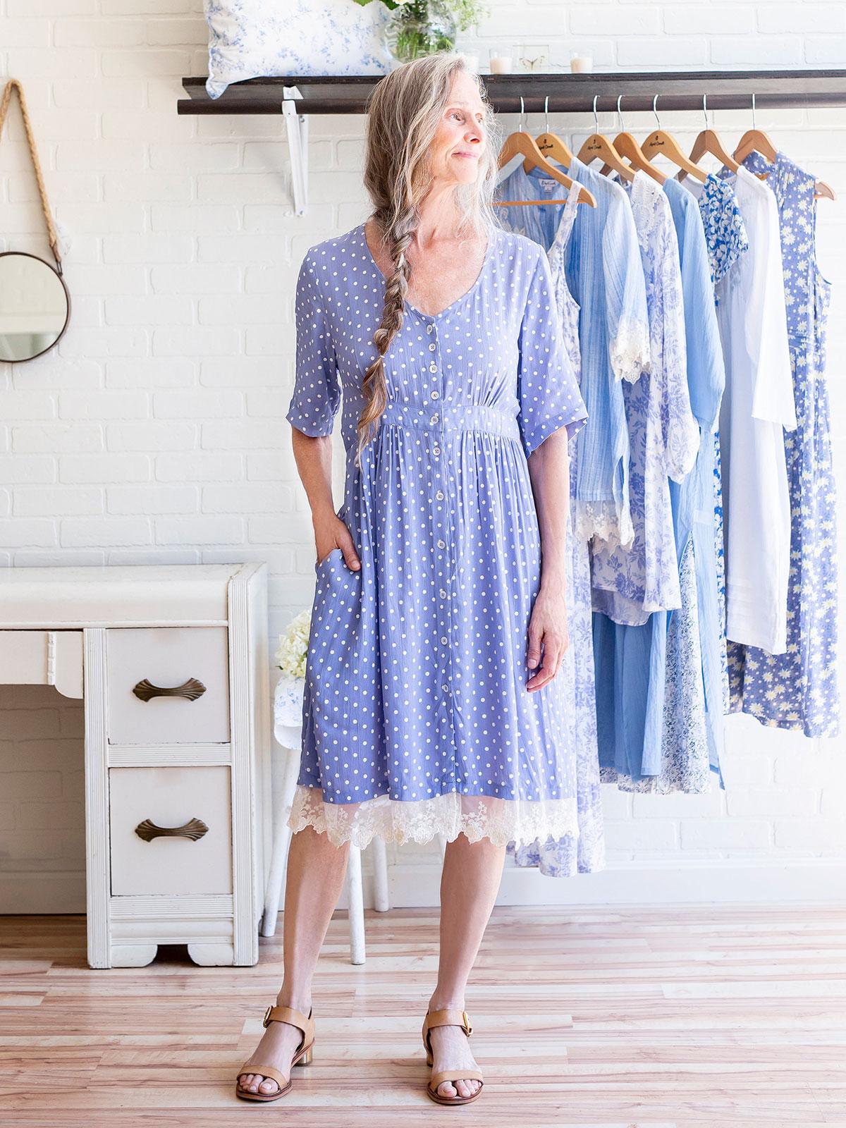 Polly's Polka Dot Dress