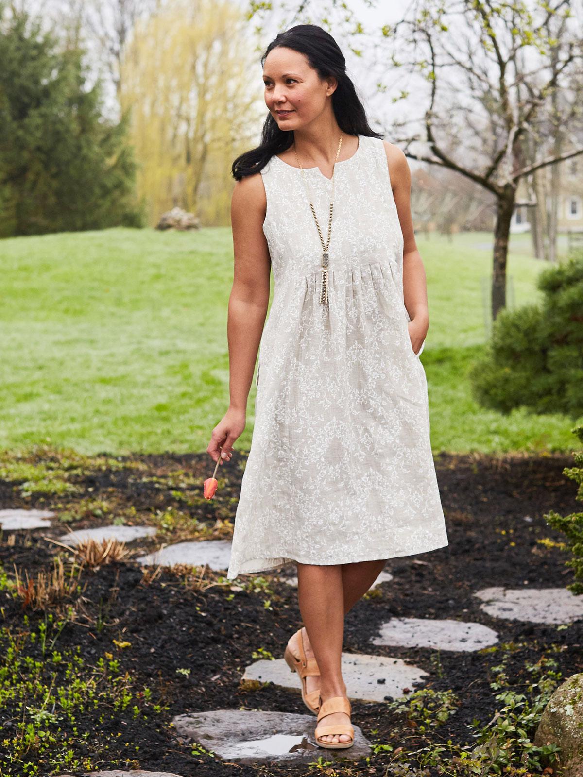 Mori Linen Dress