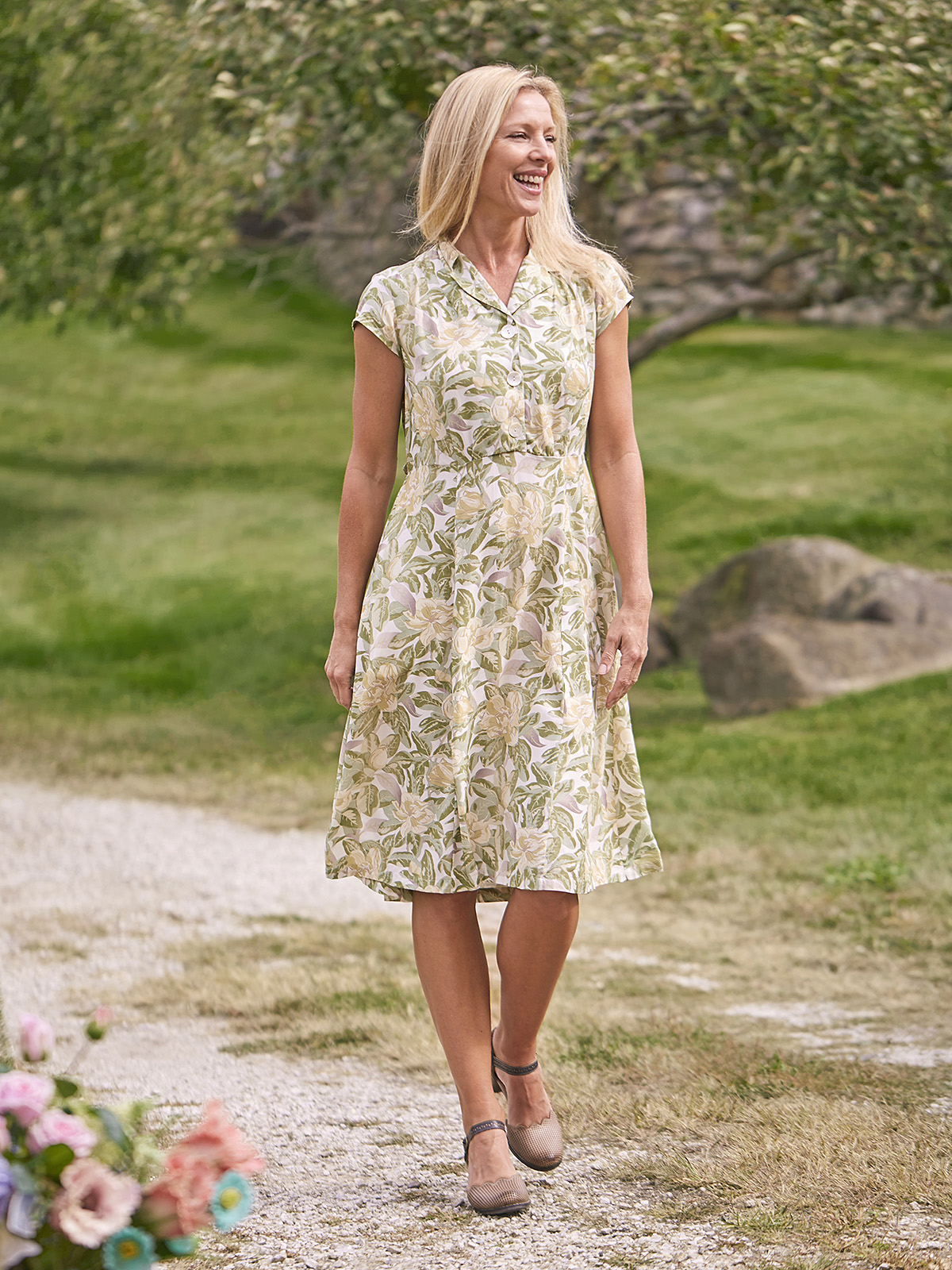 Magnolia Porch Dress