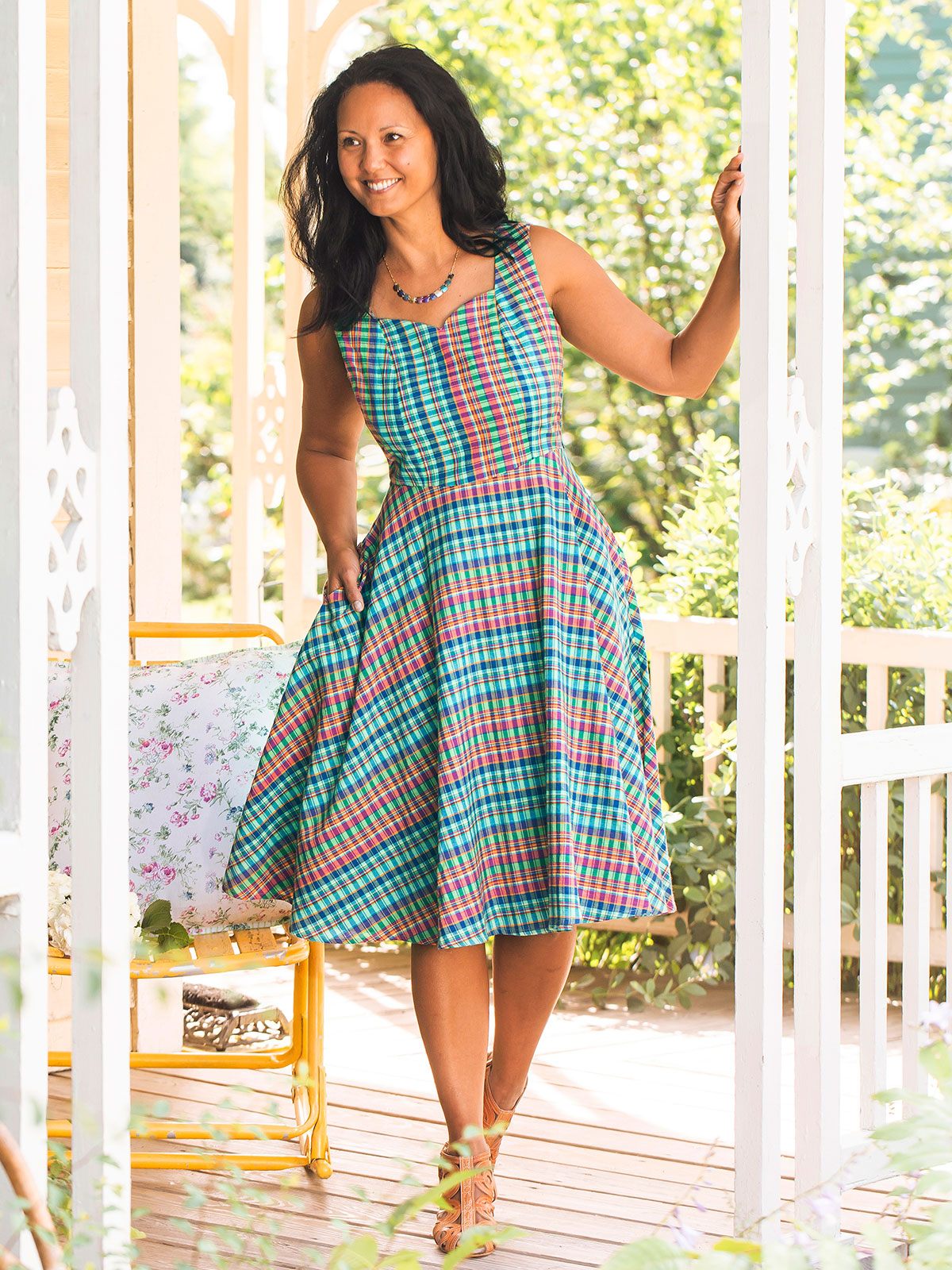Cape Cod Check Dress