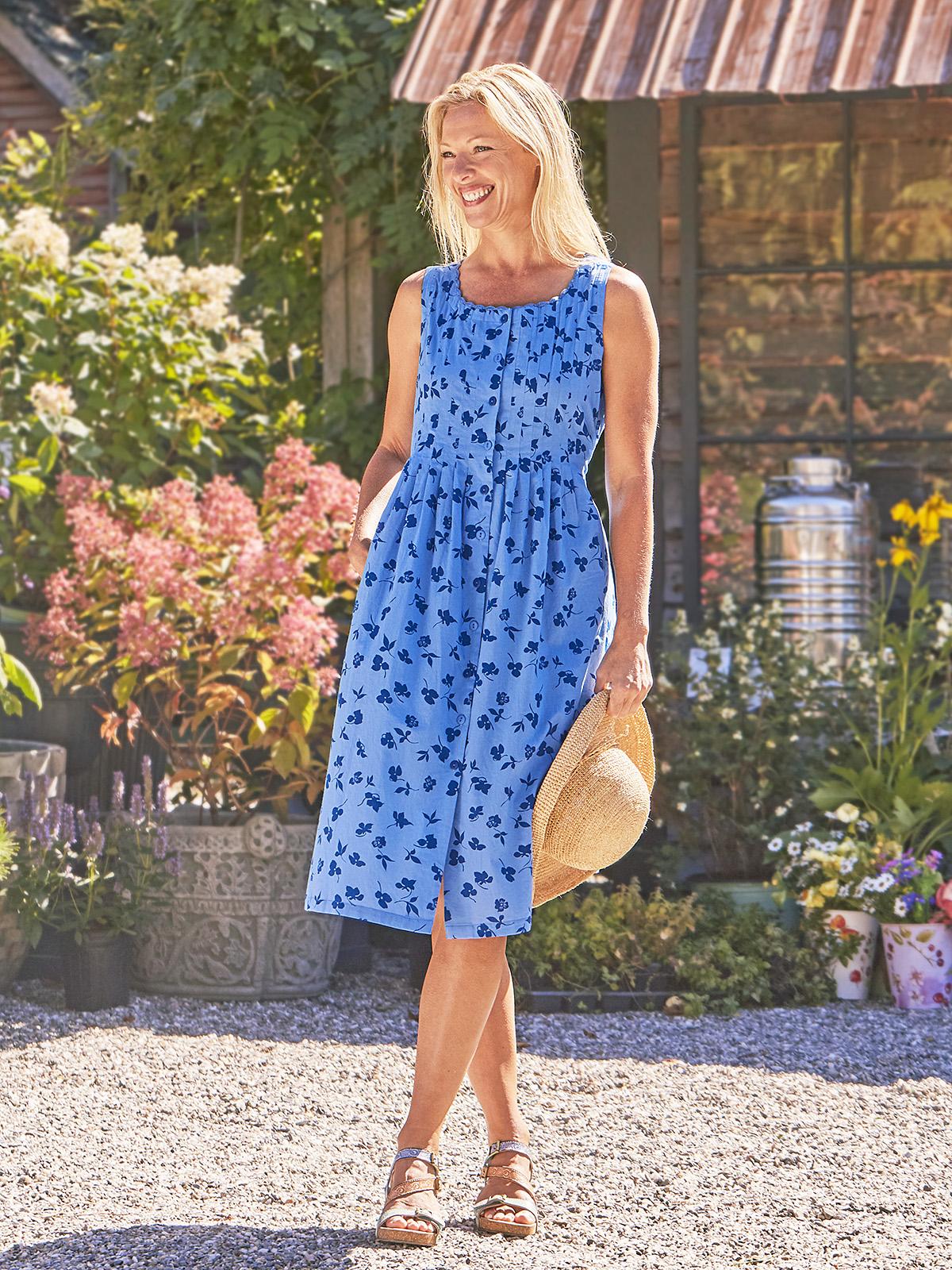 Fleur Cascade Pleated Dress