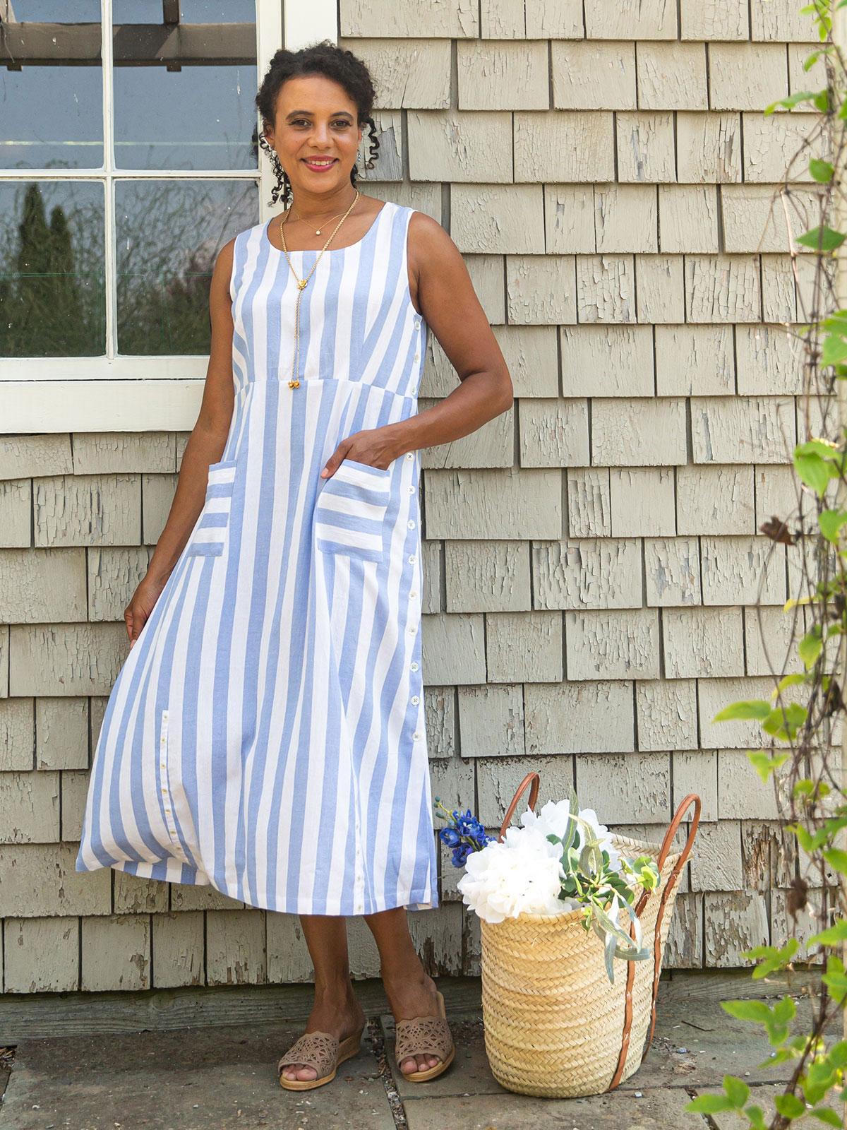 Nantucket Stripe Dress