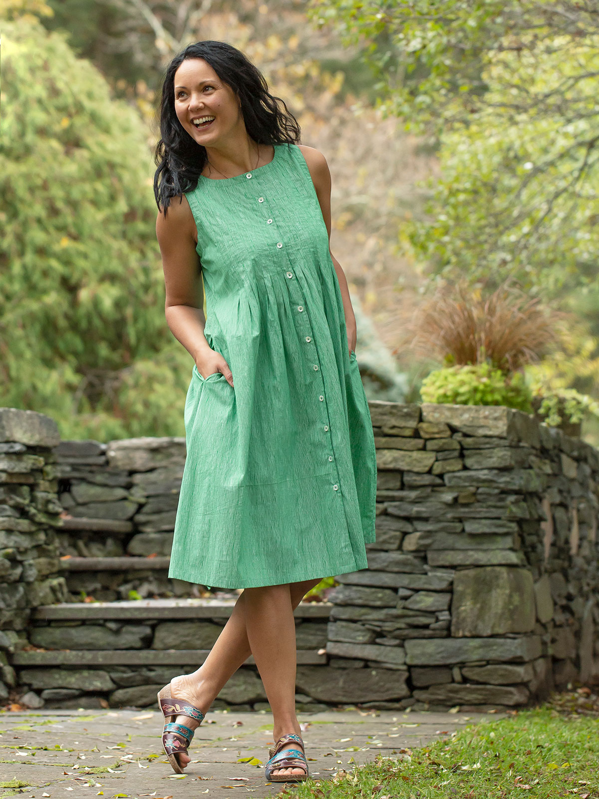 Spearmint Dress