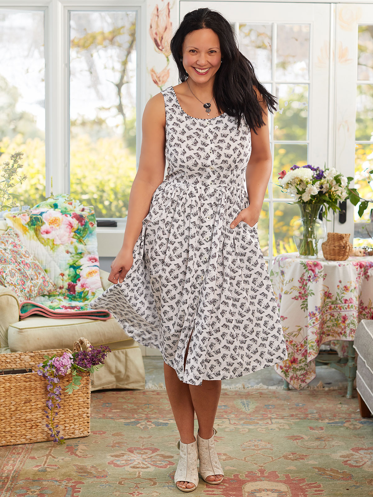 Papillion Porch Dress