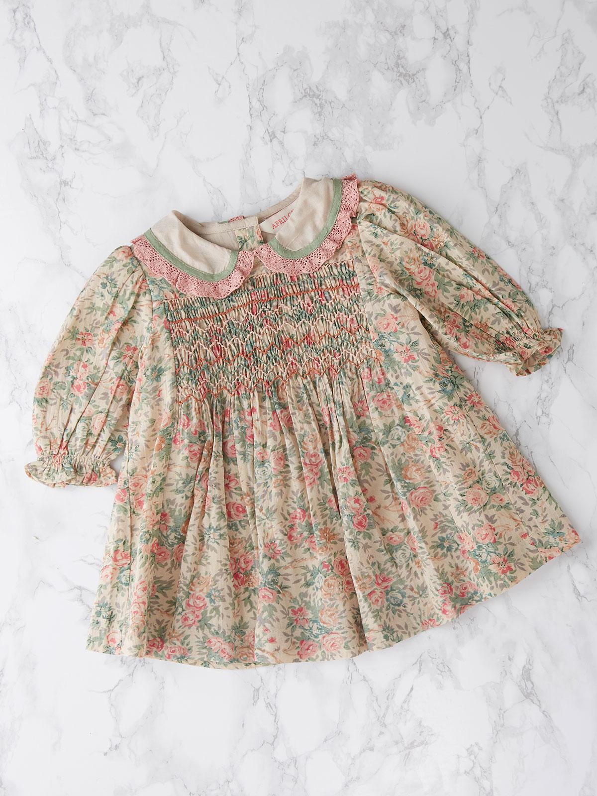 Rose Garden Baby Dress