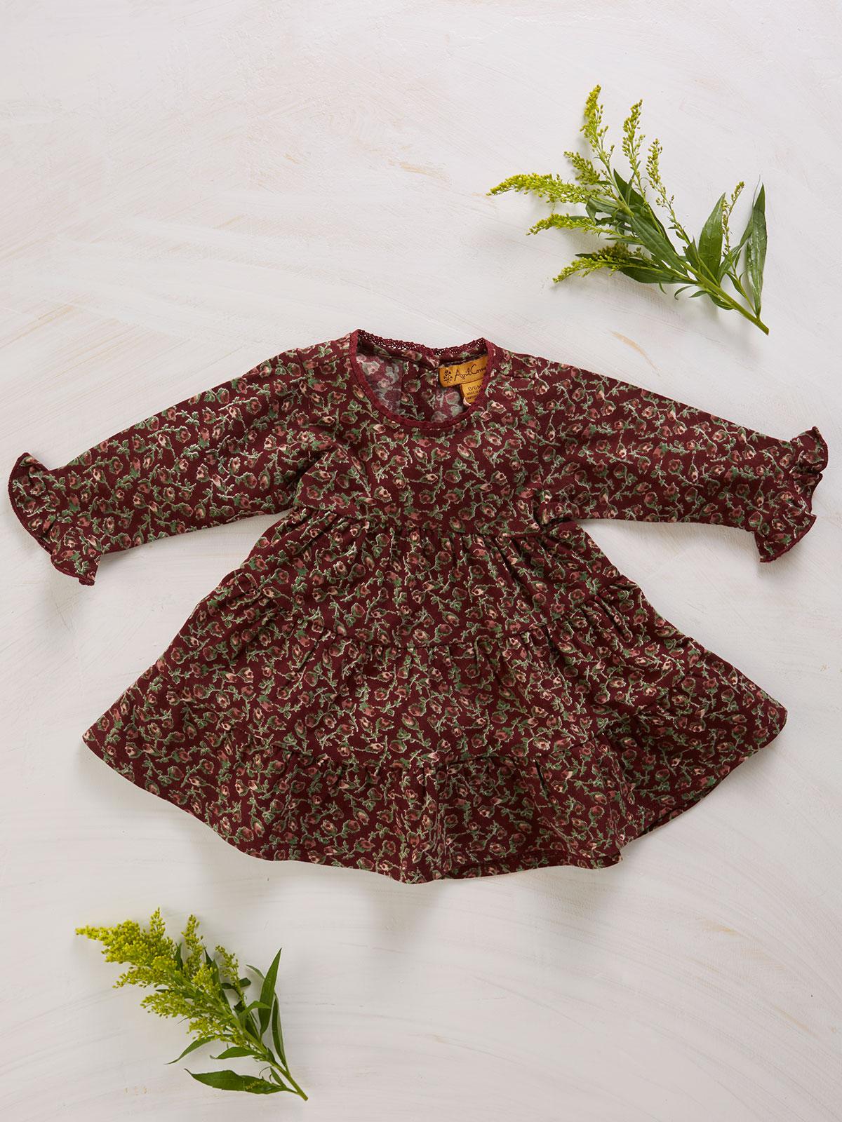 Rosebud Baby Dress
