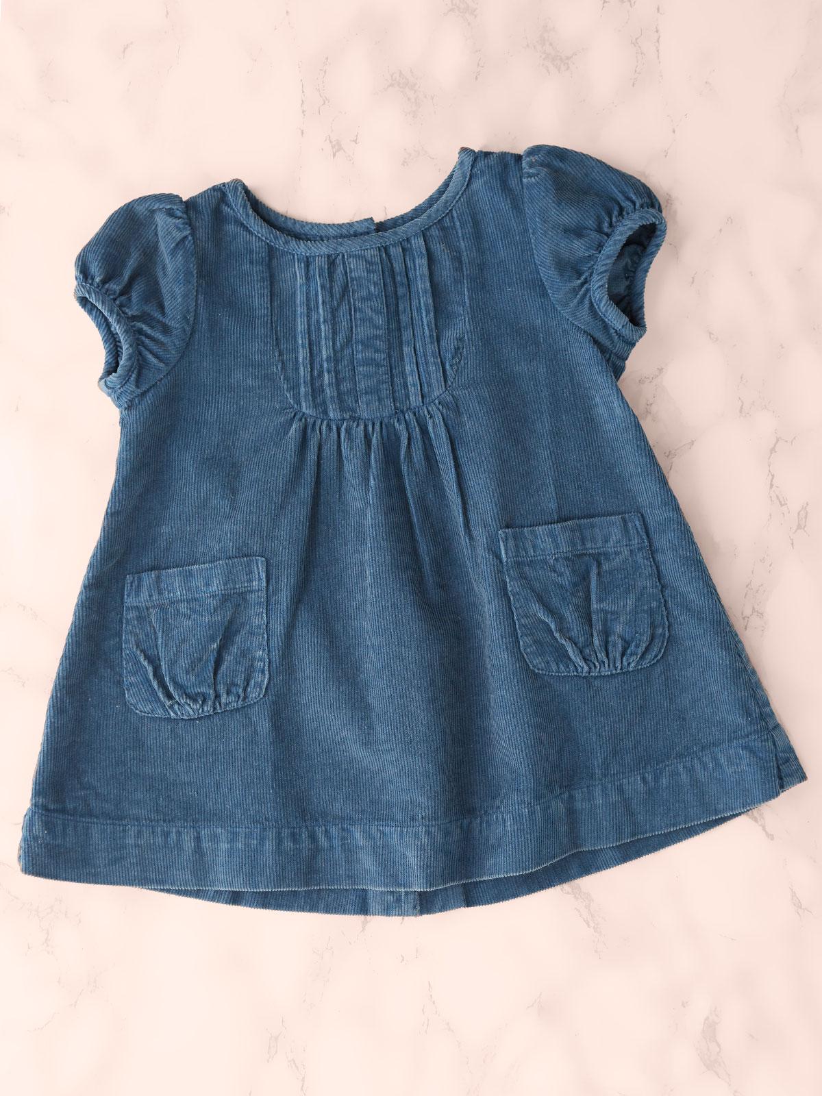 Playtime Corduroy Baby Dress