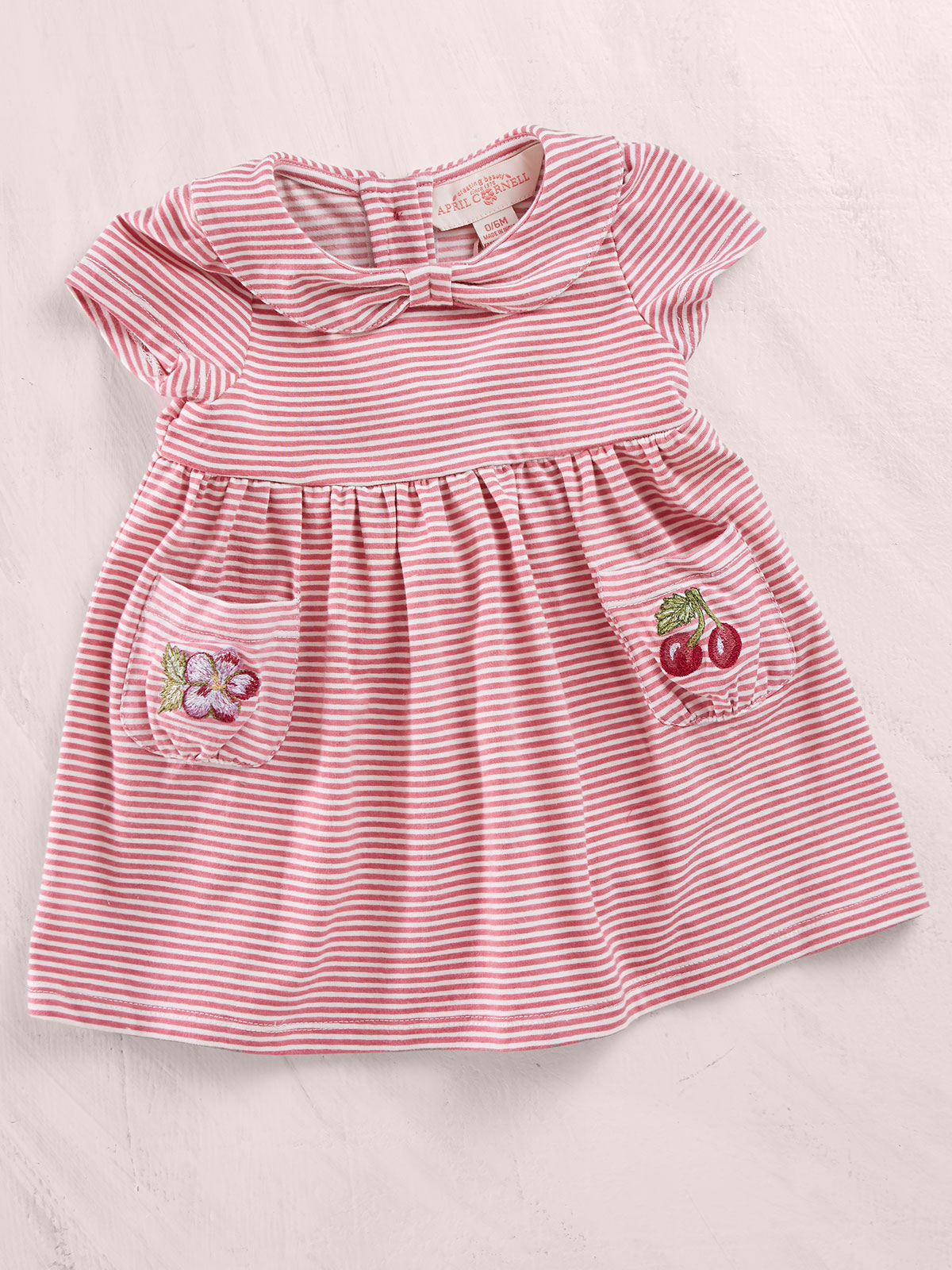 Sorbet Stripe Baby Dress