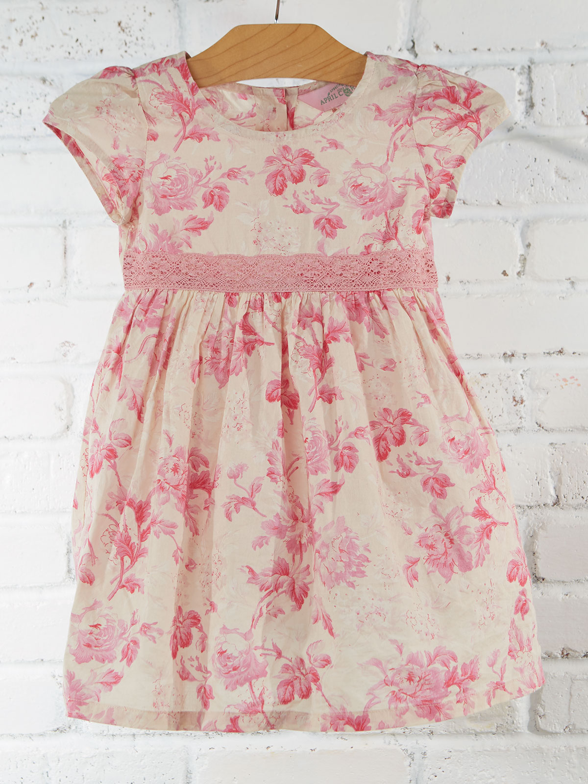 Pink Cloud Baby Dress
