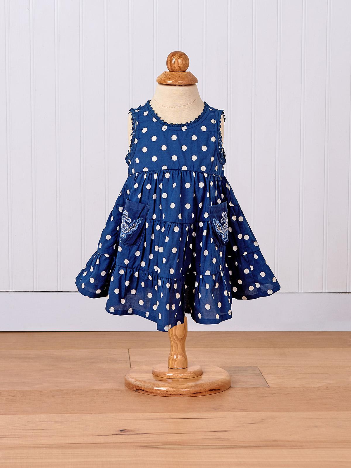 Betty Dots Baby Dress
