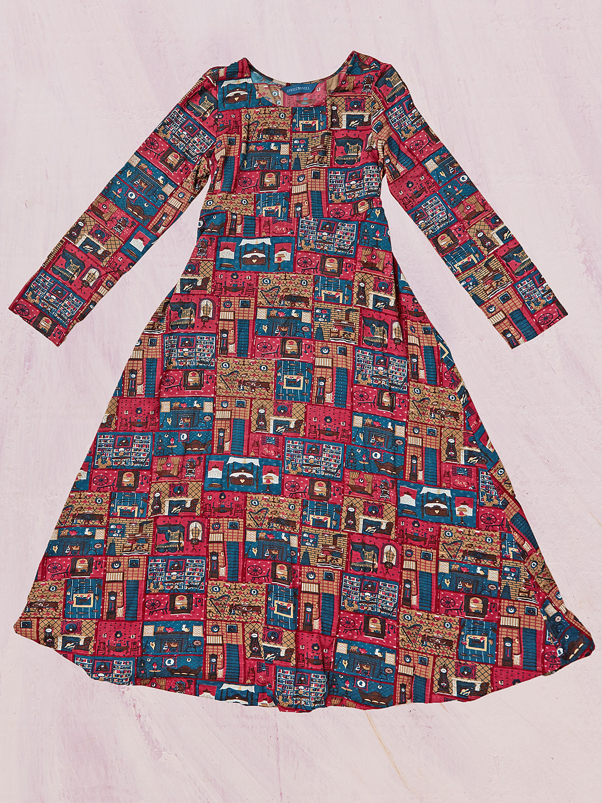 Parlour Jersey Young Lady Dress