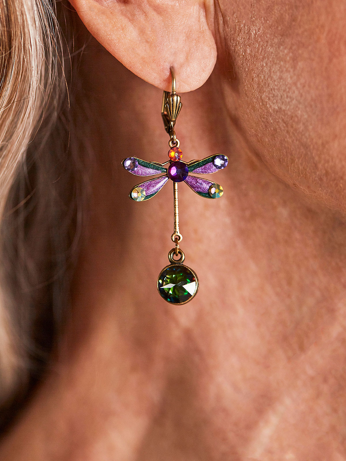 Anaise Dragonfly Earrings