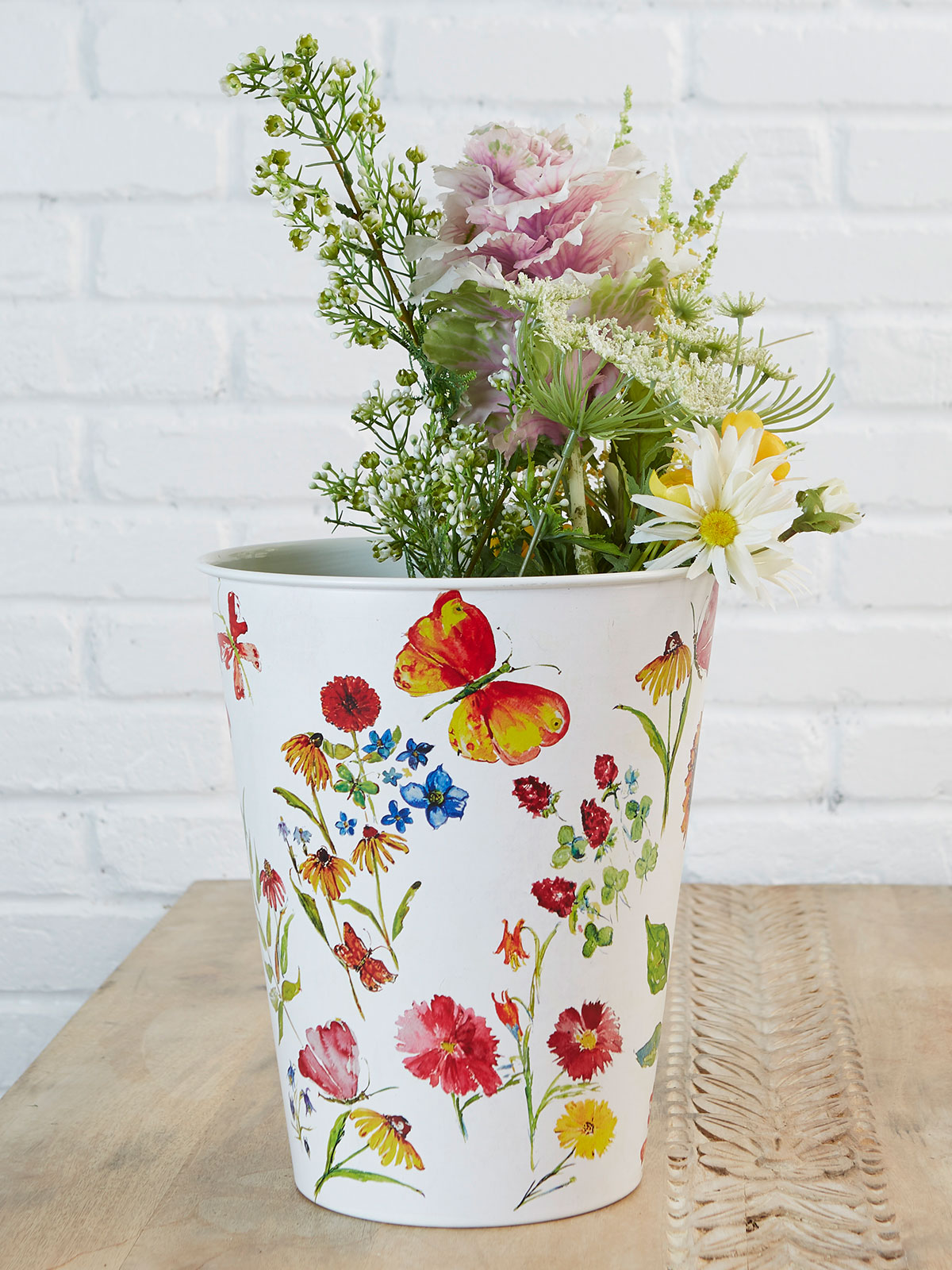 Sister's Garden French Bucket