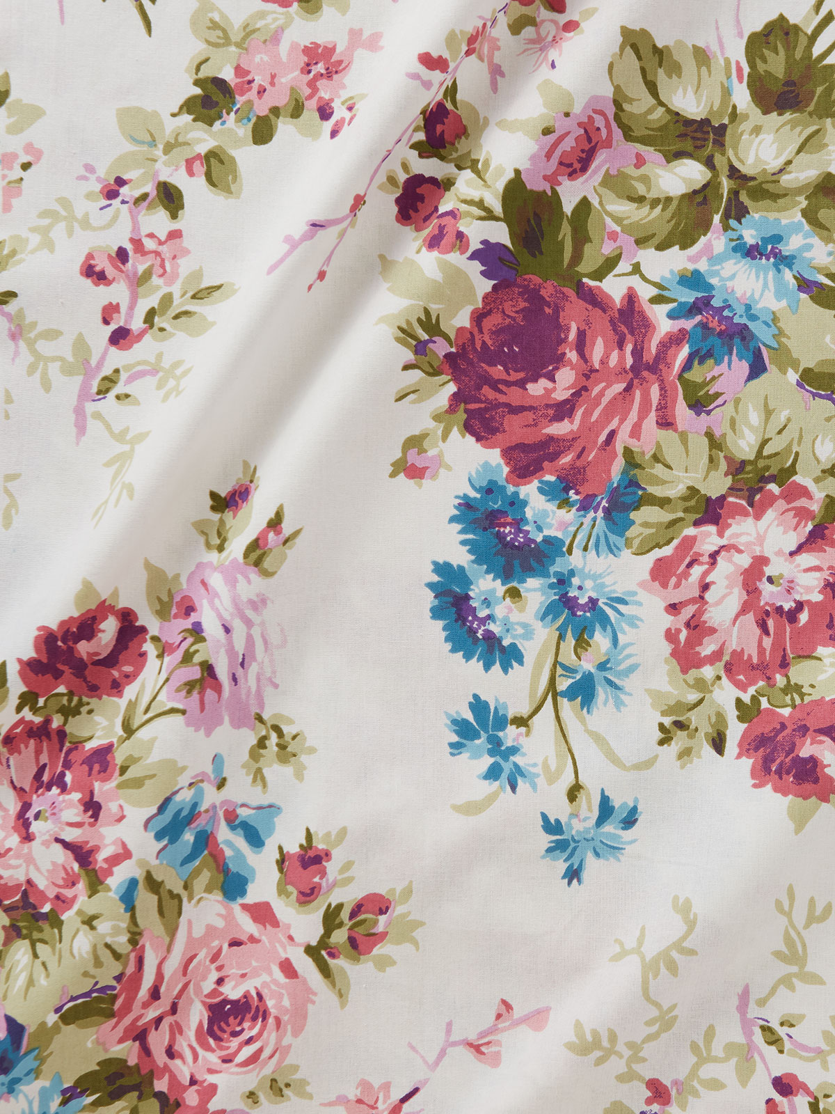 Cottage Rose Fabric by the Yard
