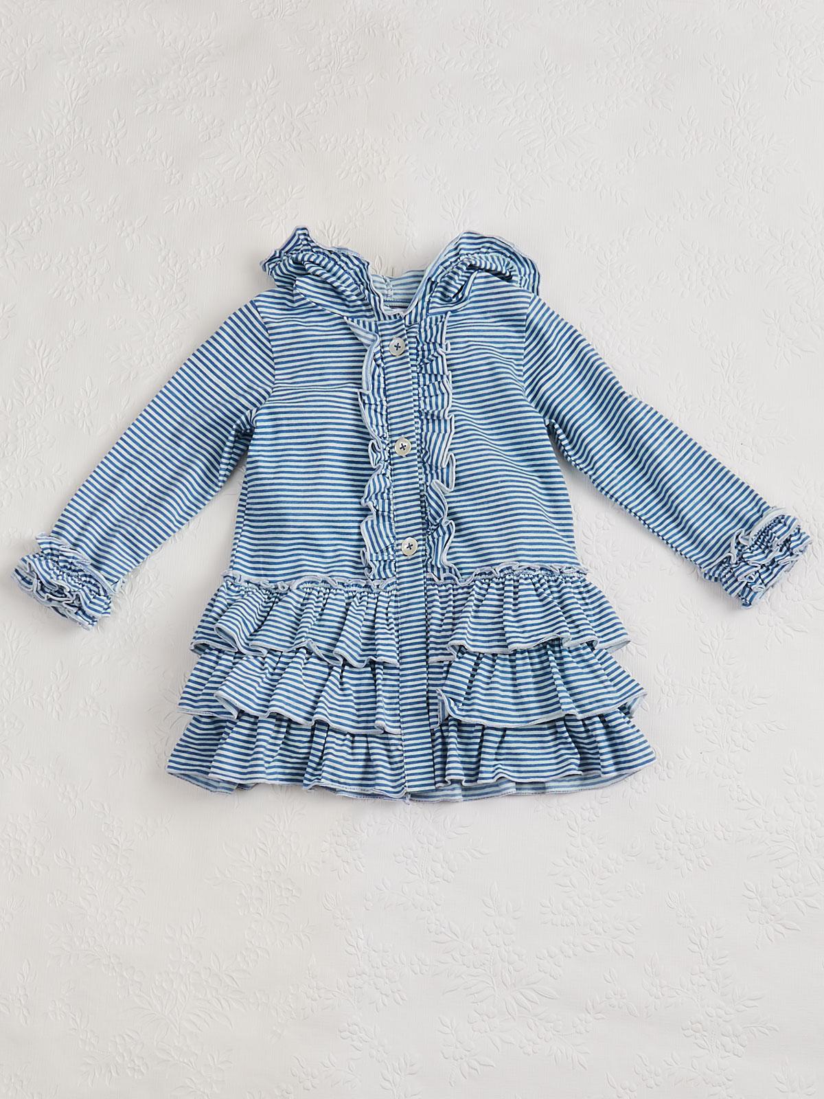 Seaside Stripe Girls Jacket