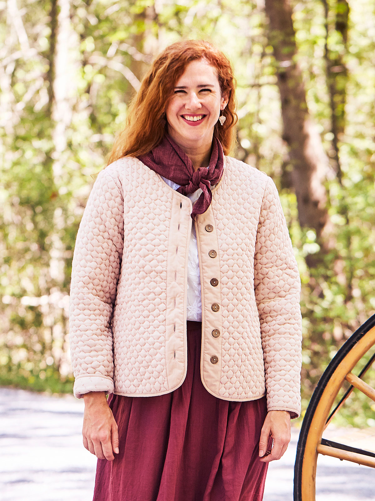 Jo Quilted Jacket