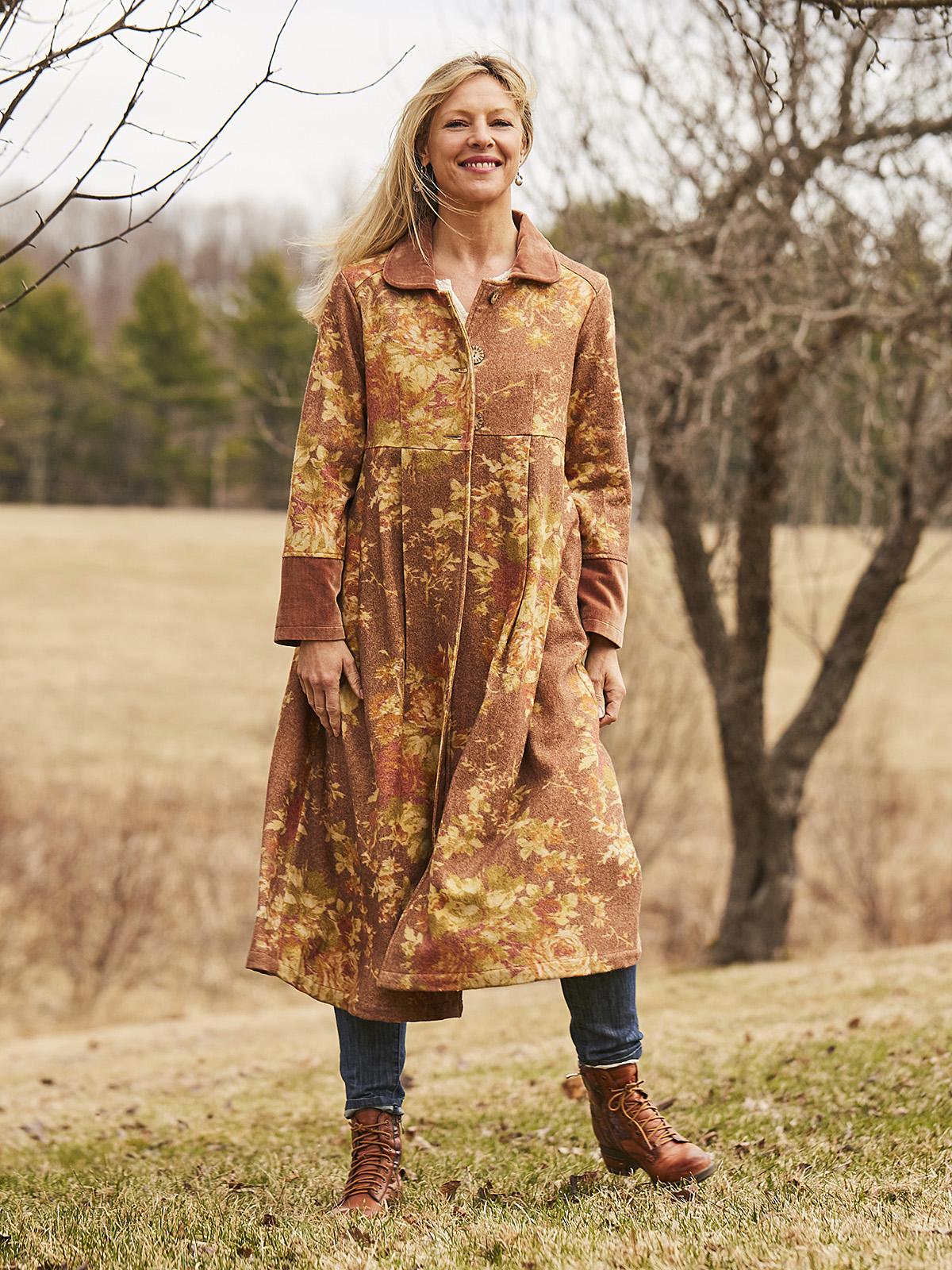 Cottage Rose Wool Jacket