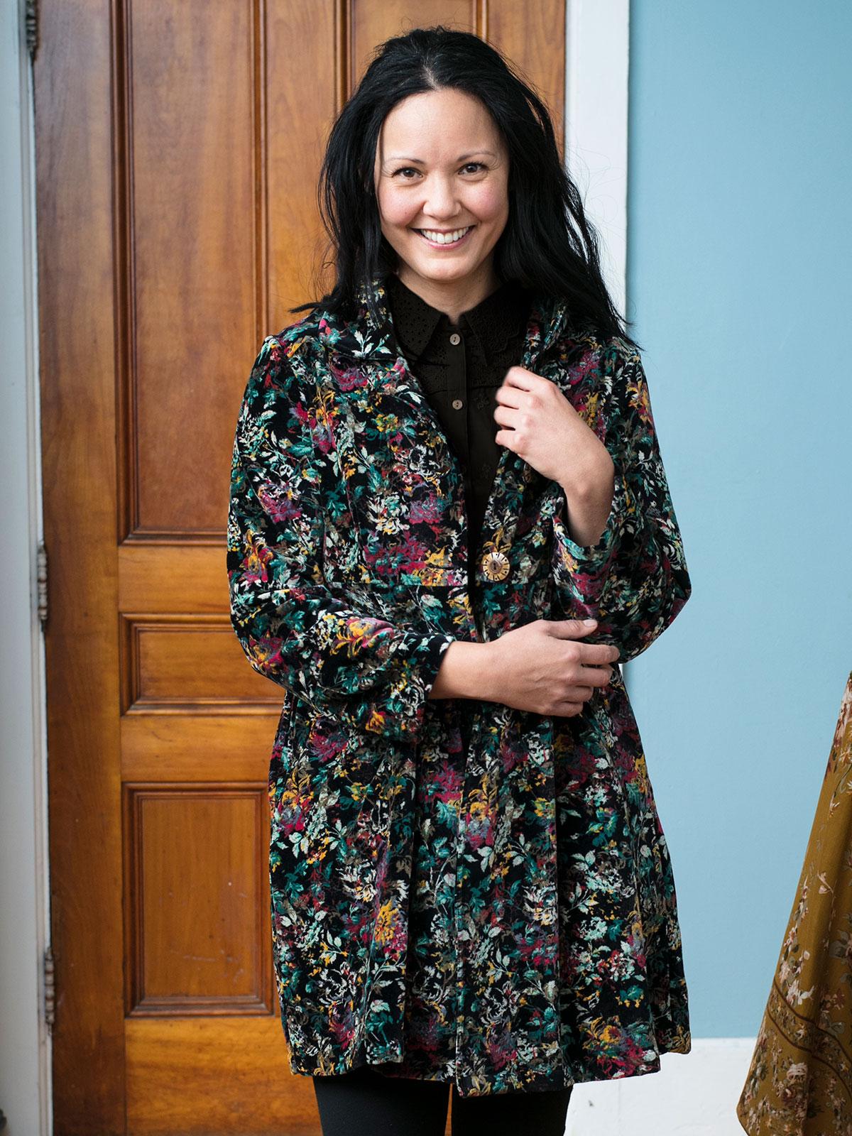 Greta's Garden Velvet Jacket