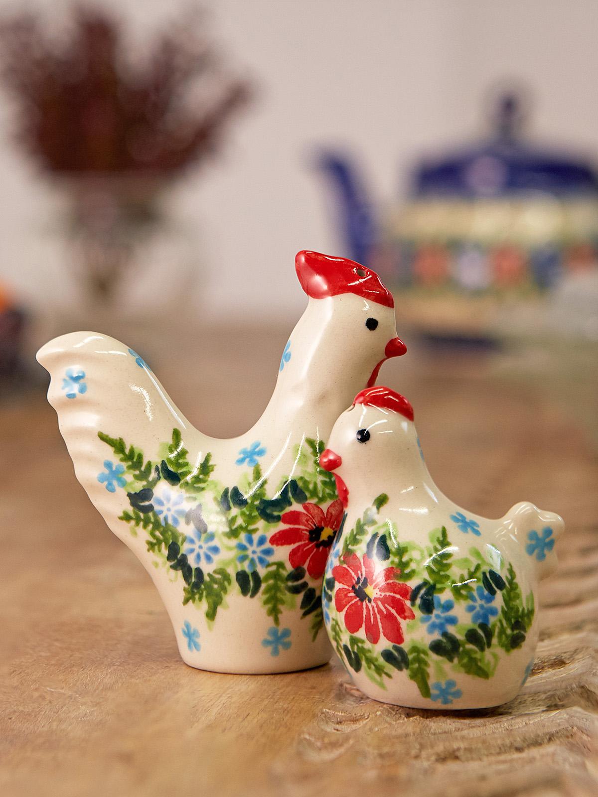 Chicken & Rooster Salt & Pepper Set