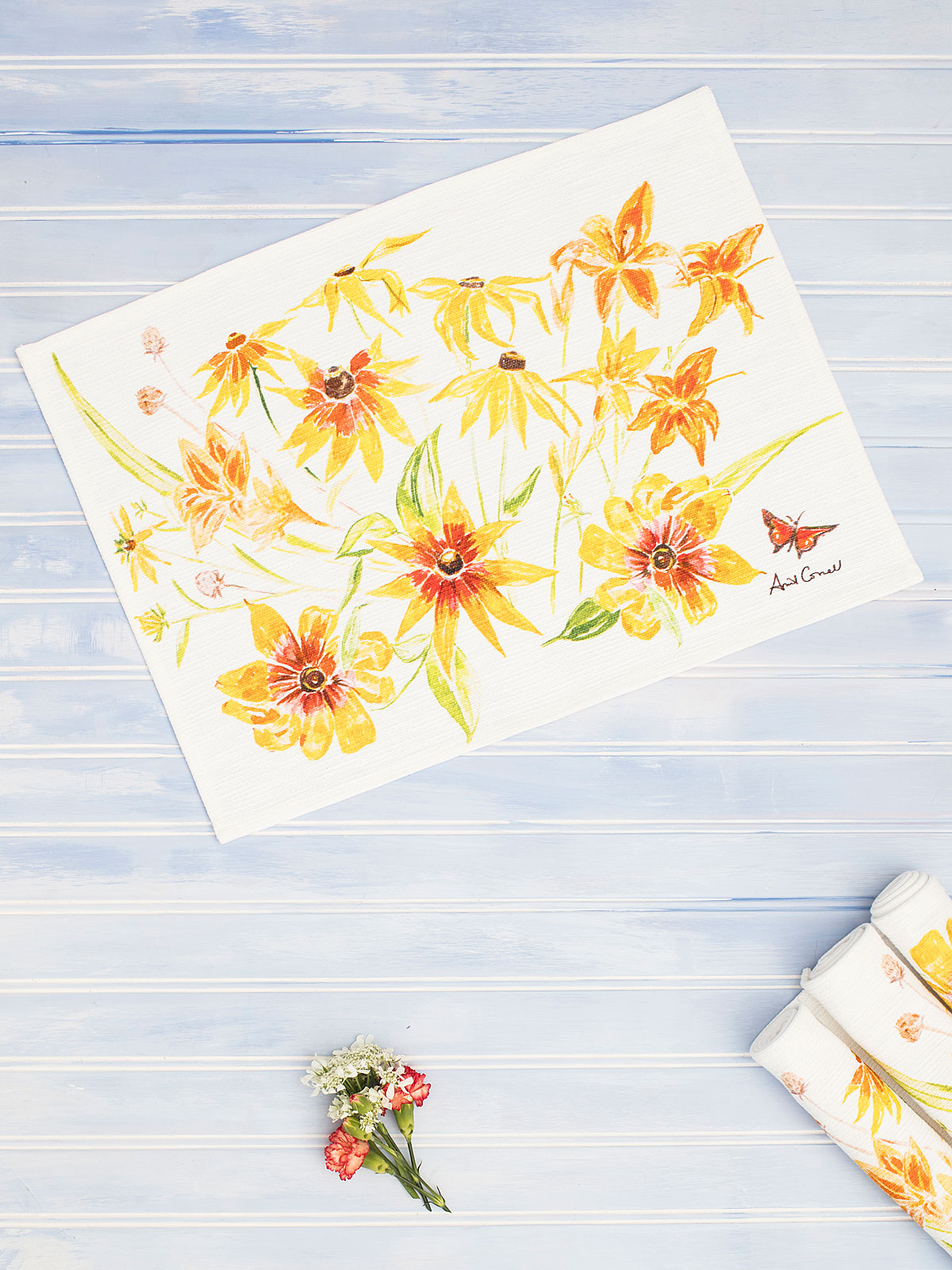 Black Eyed Susan Placemat Set of 4