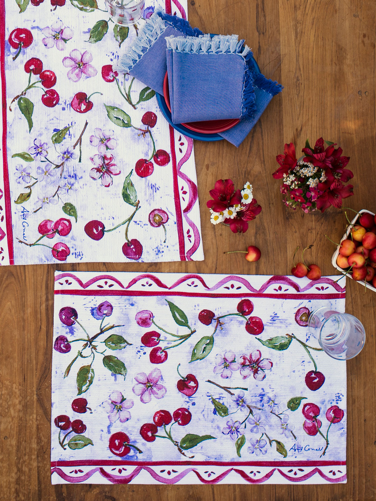 Cherries Placemat Set of 4