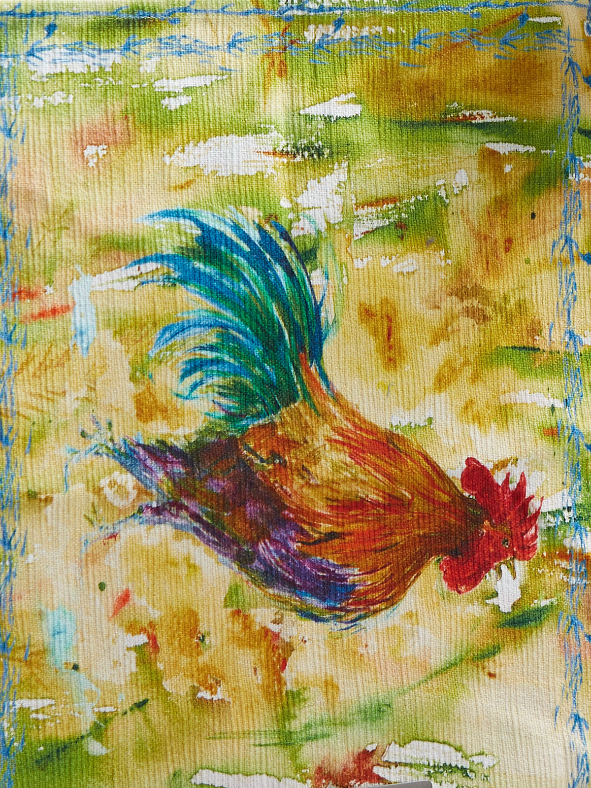 Rooster Watercolor Placemat Set Of 4 Kitchen Amp Table