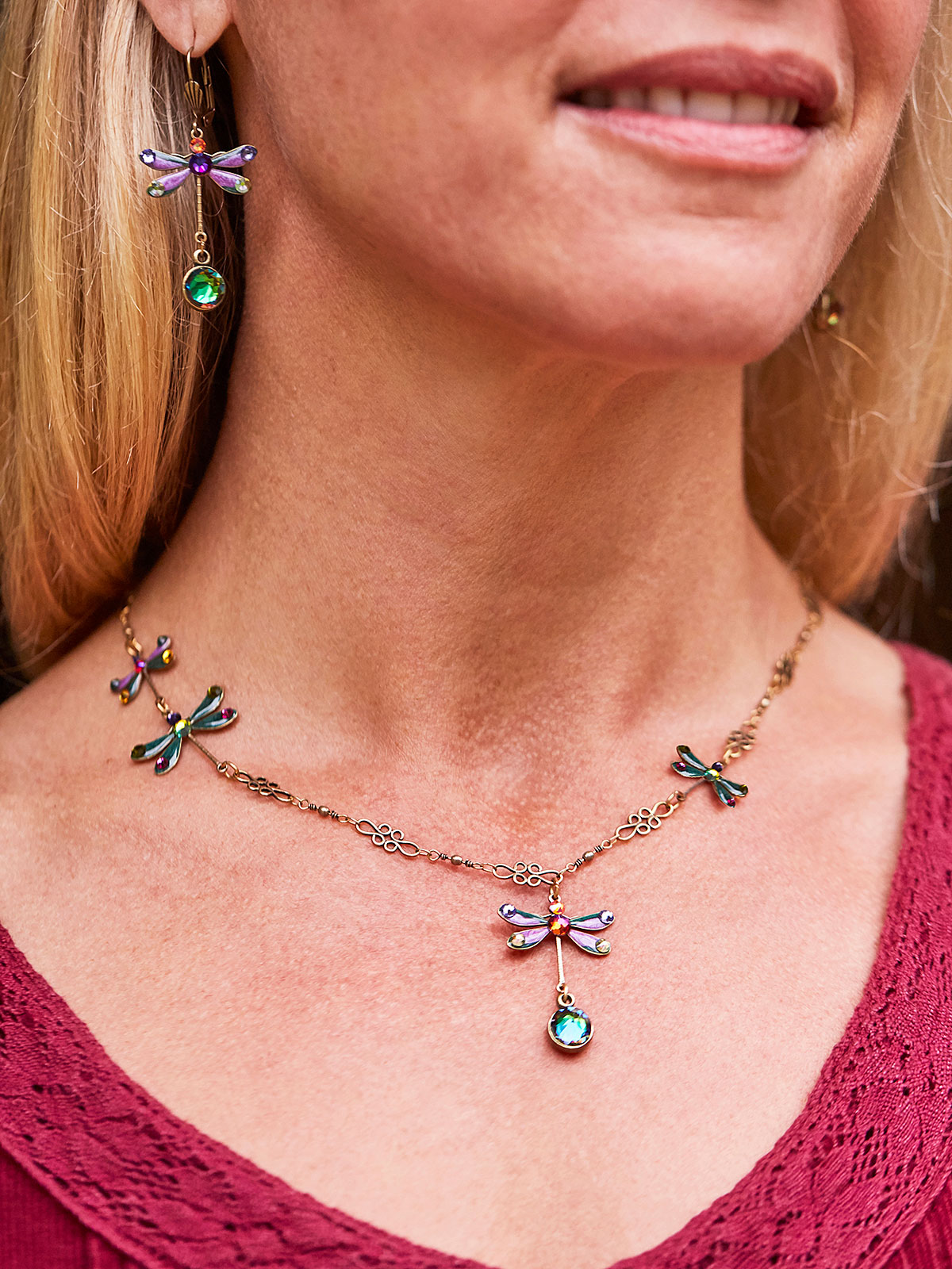 Anaise Dragonfly Necklace