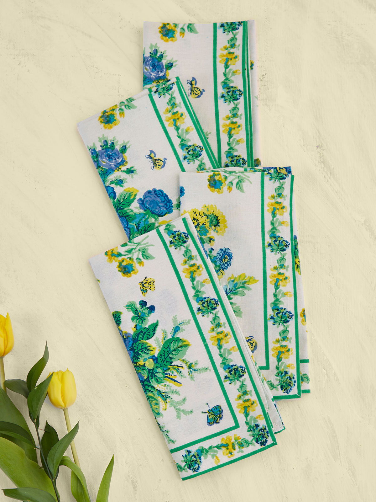 Artist Garden Napkin Set of 4