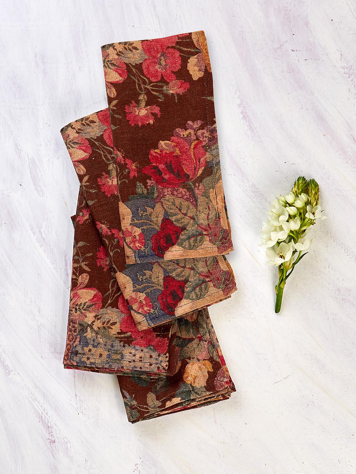 Allure Linen Napkin Set of 4