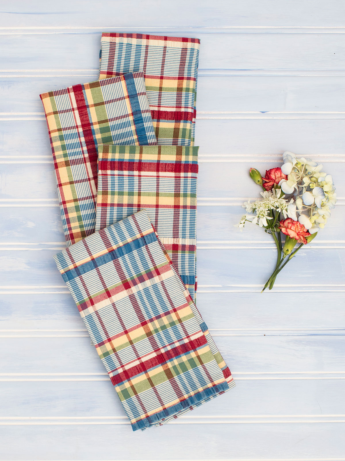 Picnic Seersucker Napkin Set of 4