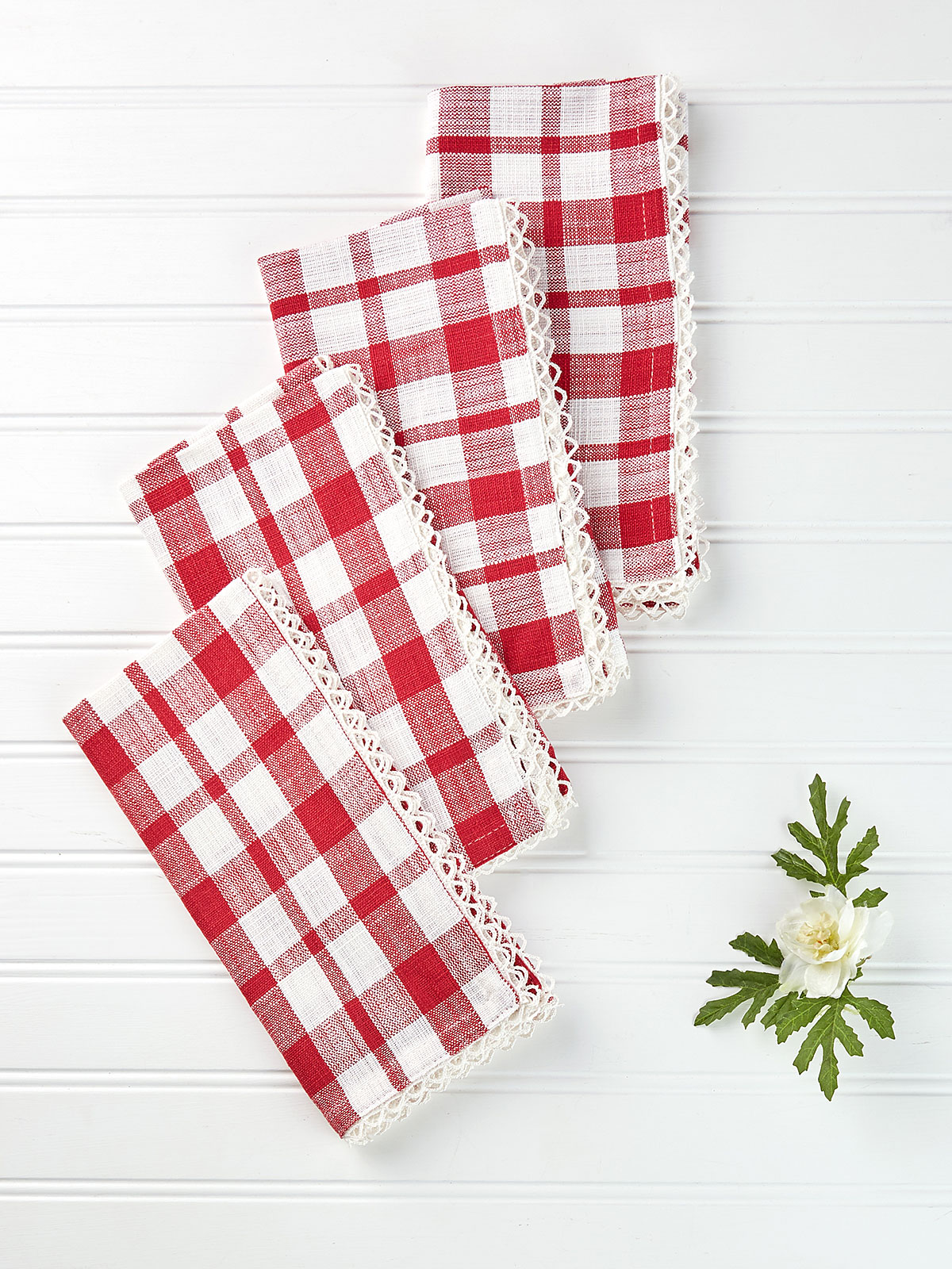 Strawberry Napkin Set of 4