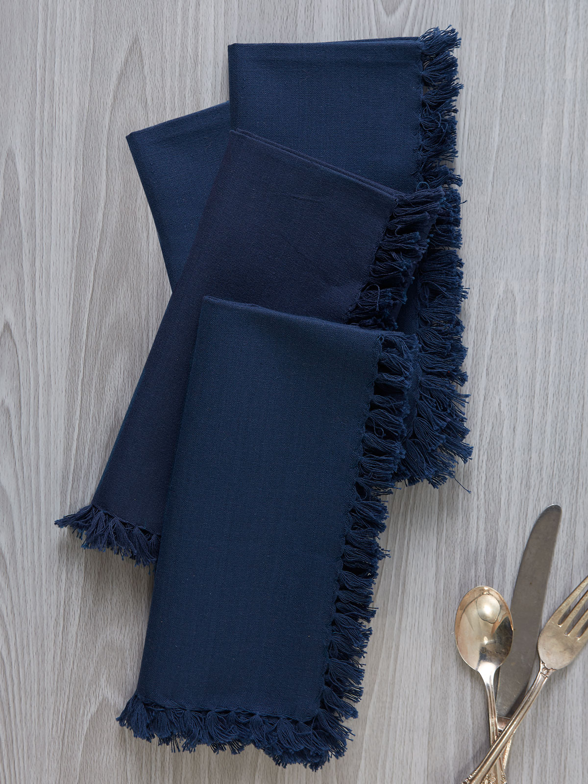 Essential Napkin Set of 4 - Dark Blue