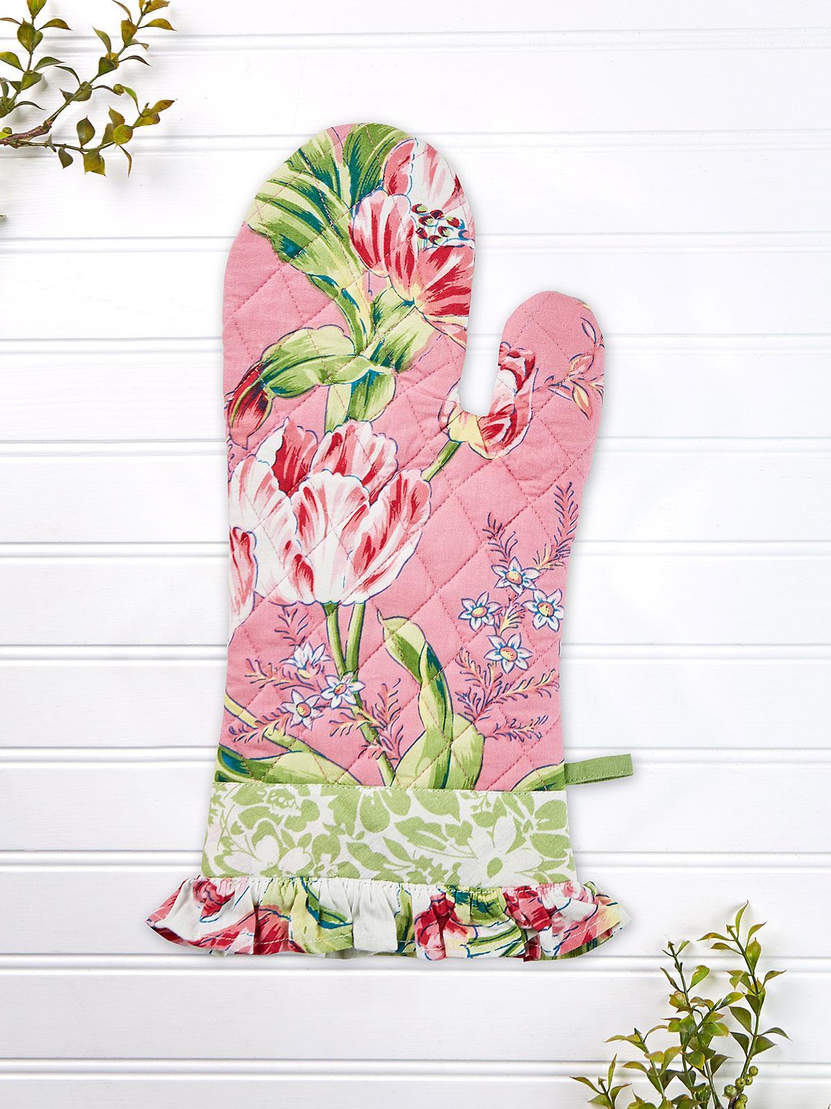 Spring Bouquet Patchwork Ovenmitt