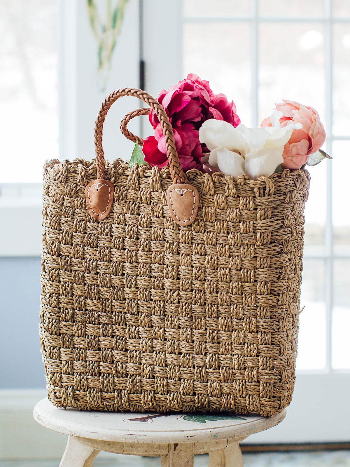 Granada Straw Shopper Bag