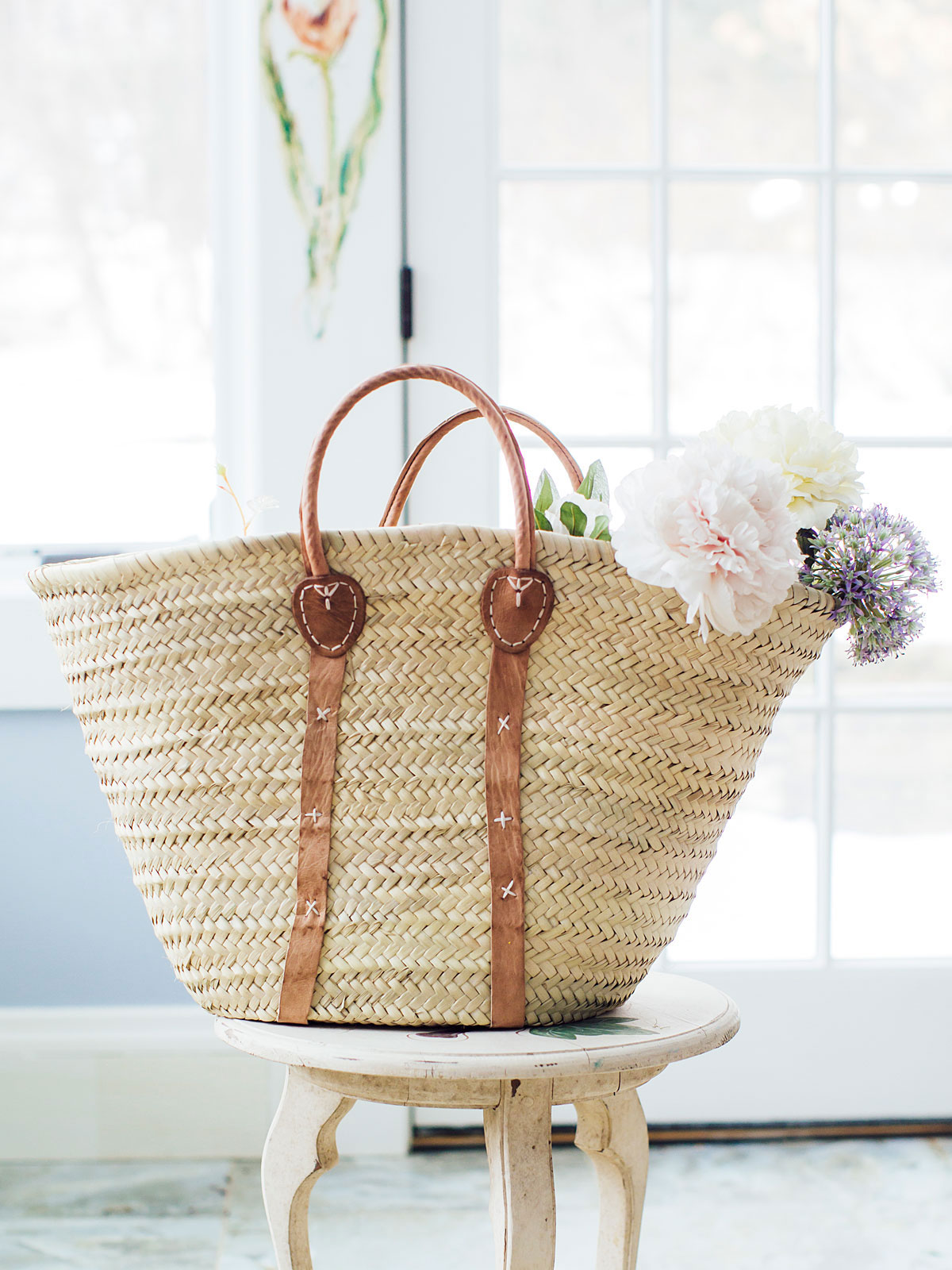 Mali Straw Shopper Bag