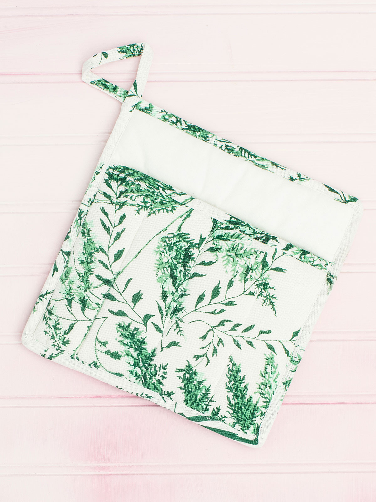 Fern Pocket Potholder