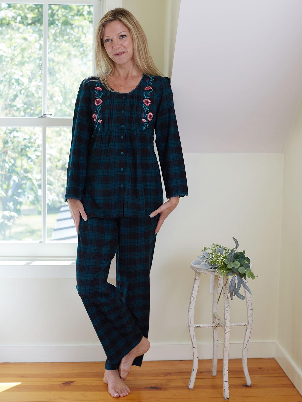 Forest Plaid Pajama