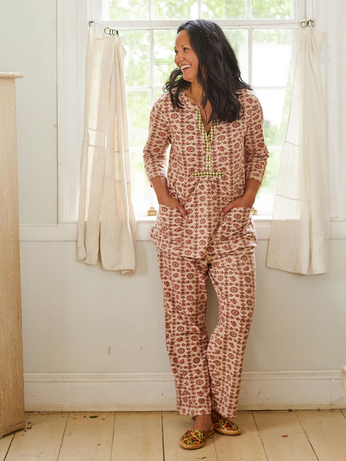 Cafe Jersey Pajama