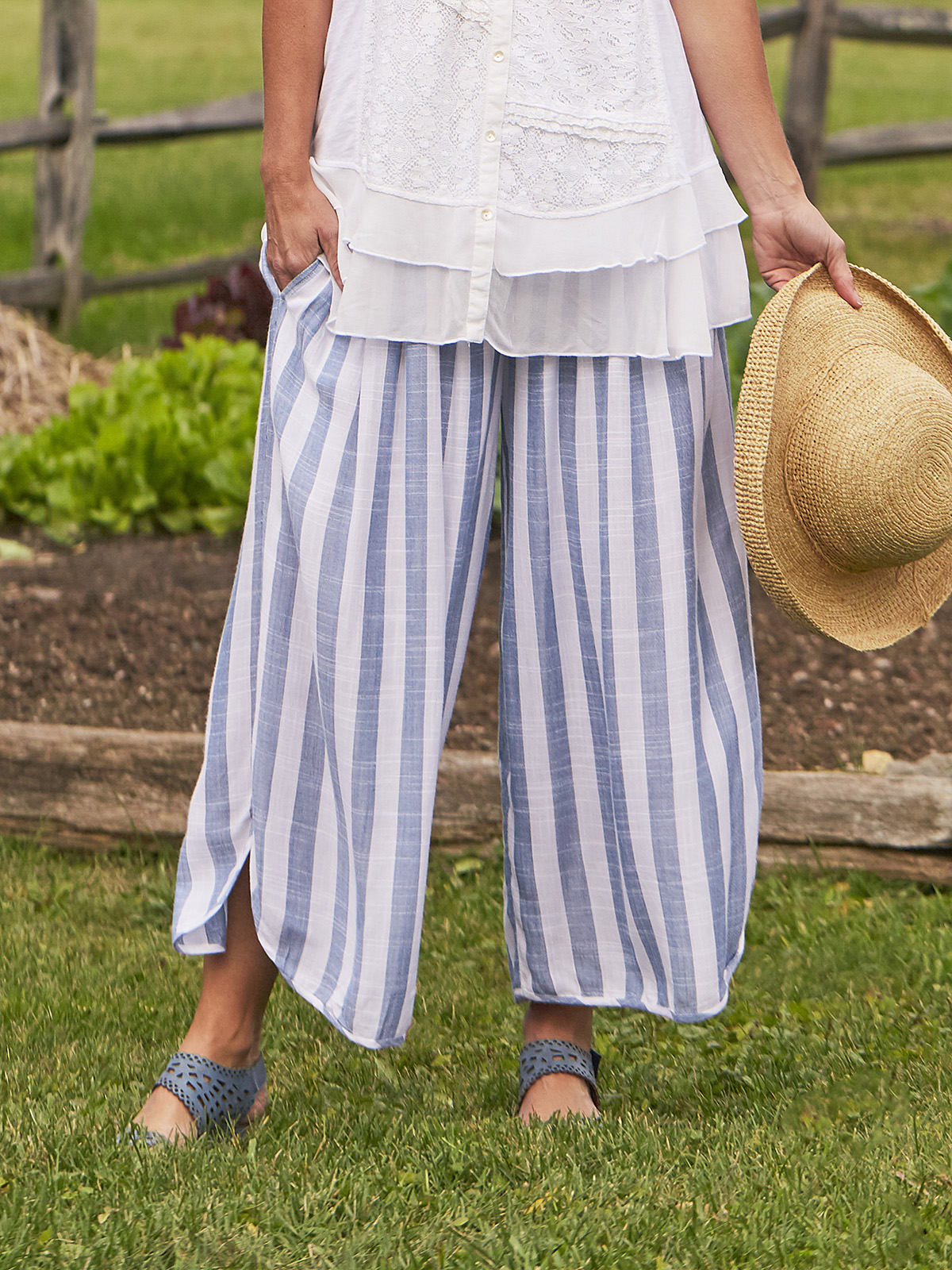 Bahama Stripe Pant