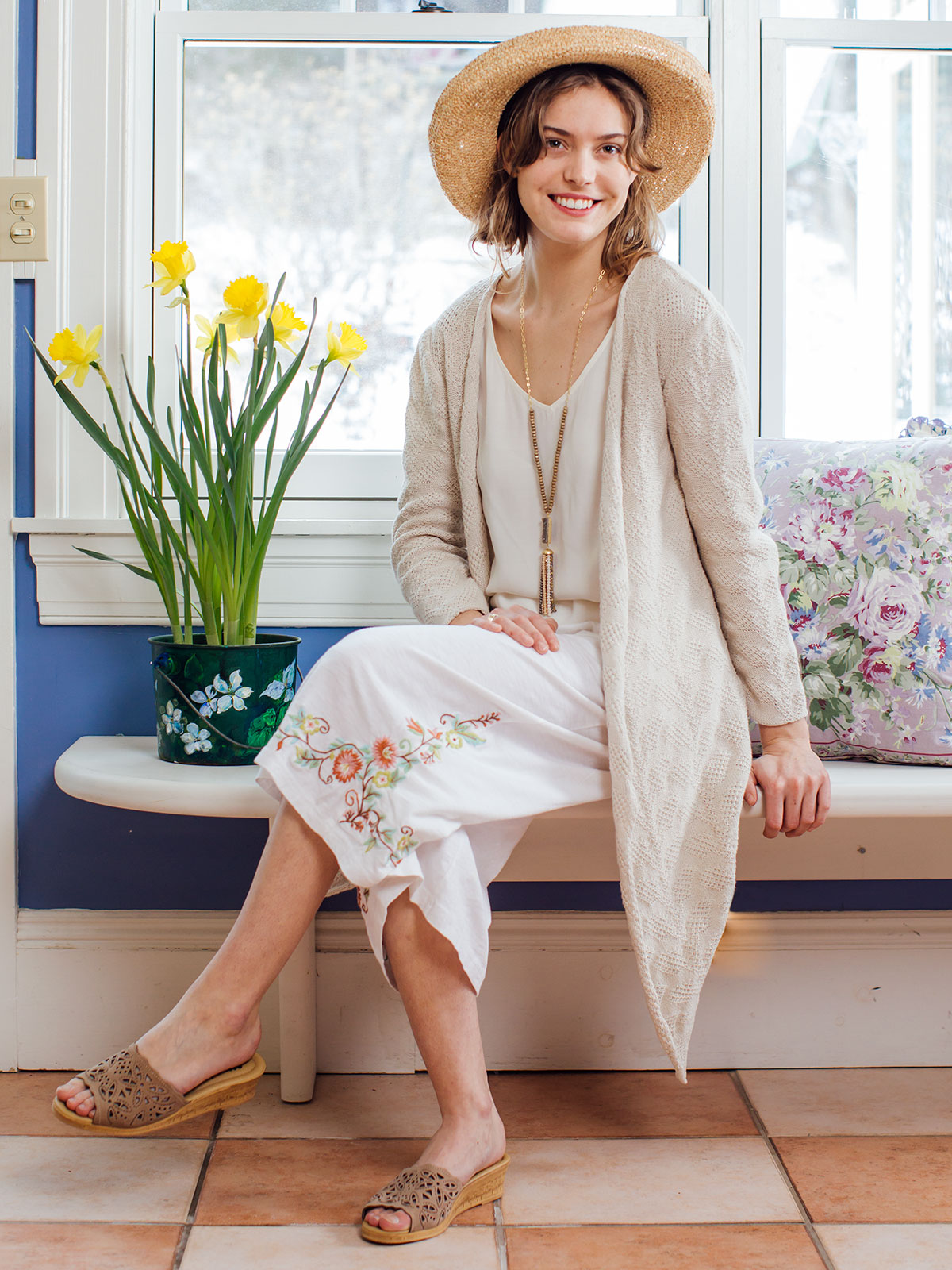 Tapestry Culotte Pant