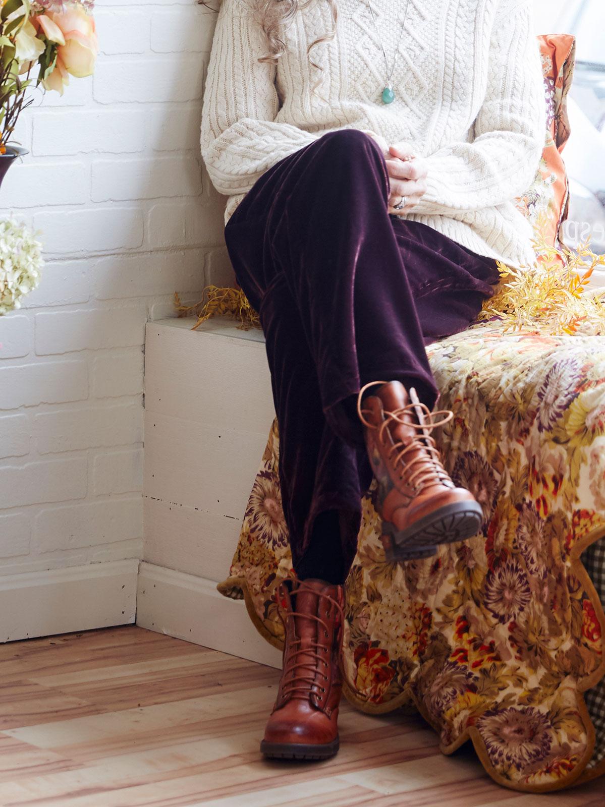 Marion Velvet Pant