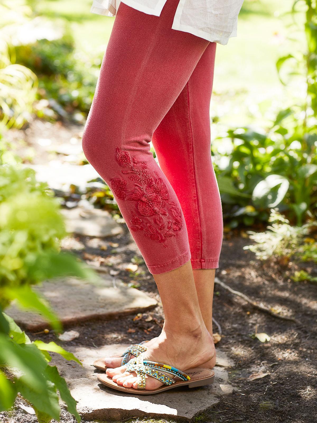 Tapestry Capri Sunwashed Legging