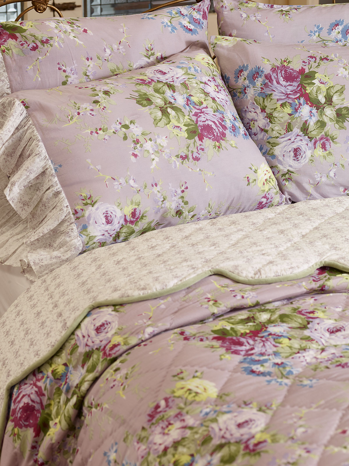 Cottage Rose Quilt Your Home Bedding Beautiful Designs