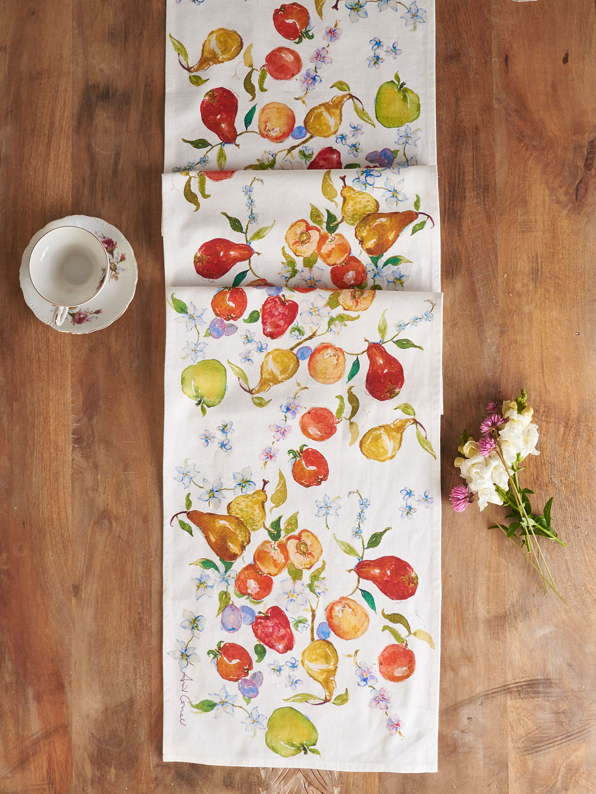 Fresh Fruit Table Runner