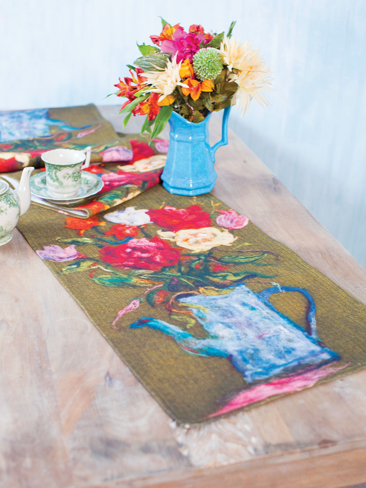 Grammie's Garden Table Runner
