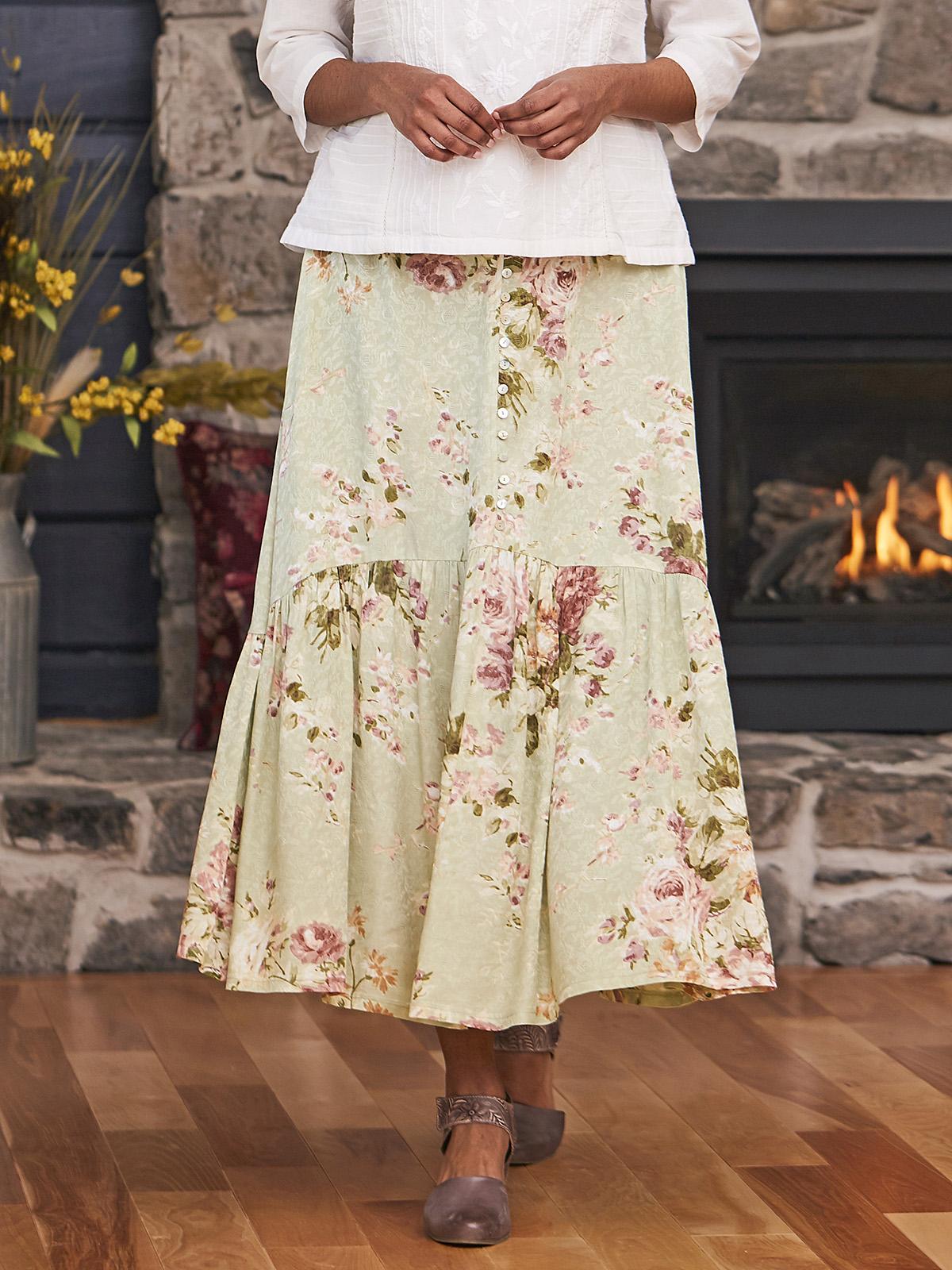 Carolina Jacquard Skirt
